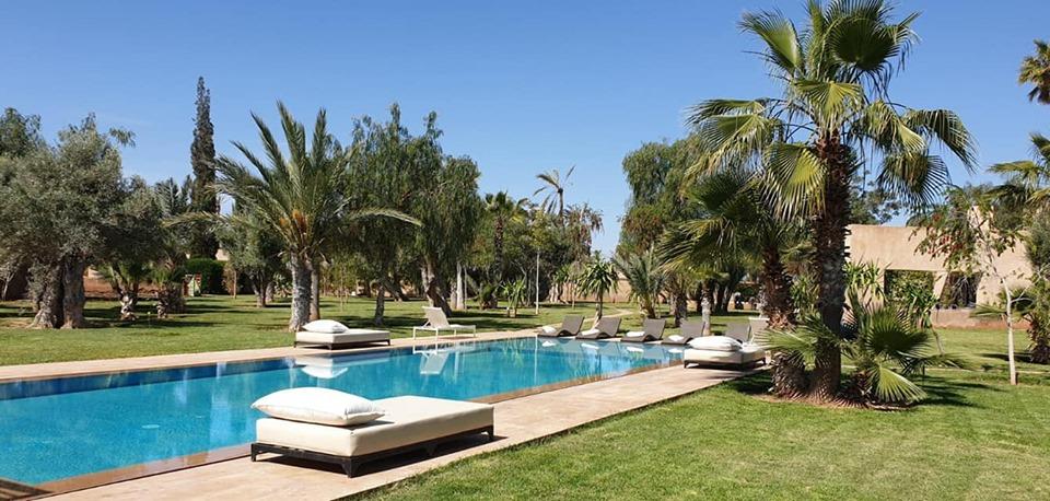 Image  Luxueuse villa 6 suites à vendre à la palmeraie Marrakech  9