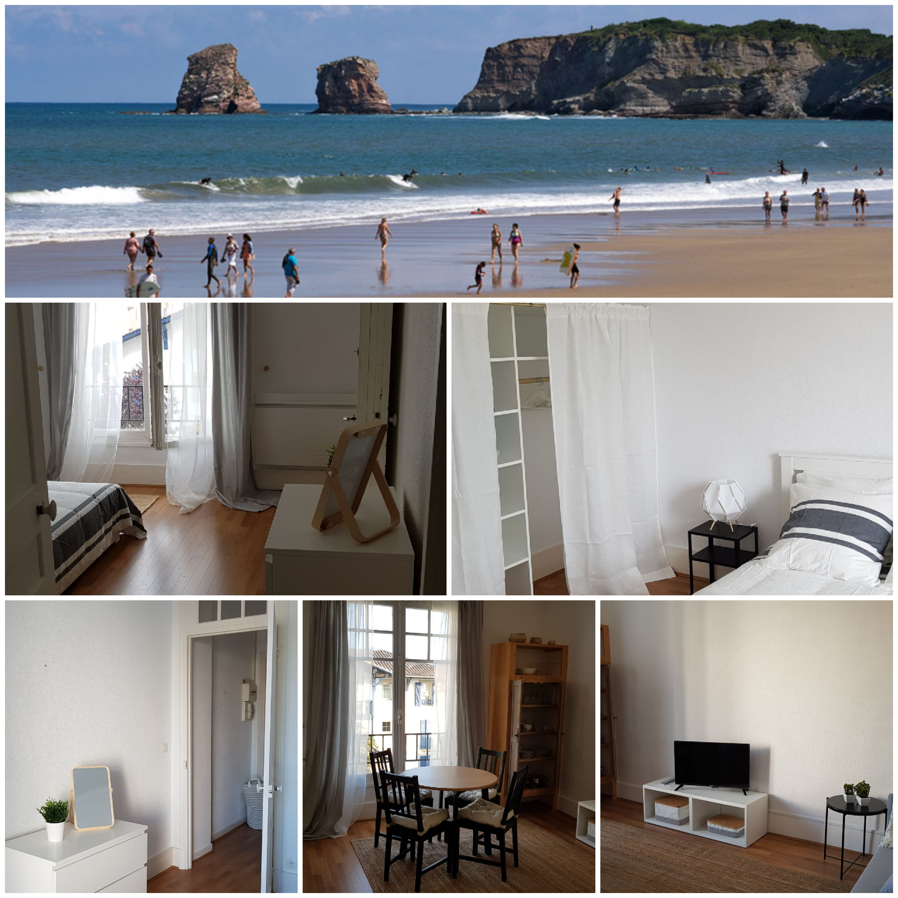 Image Stylish apartment at the heart of Hendaye beach 0