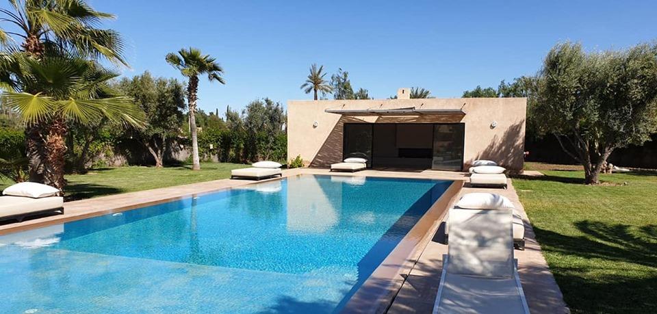 Image  Luxueuse villa 6 suites à vendre à la palmeraie Marrakech  8