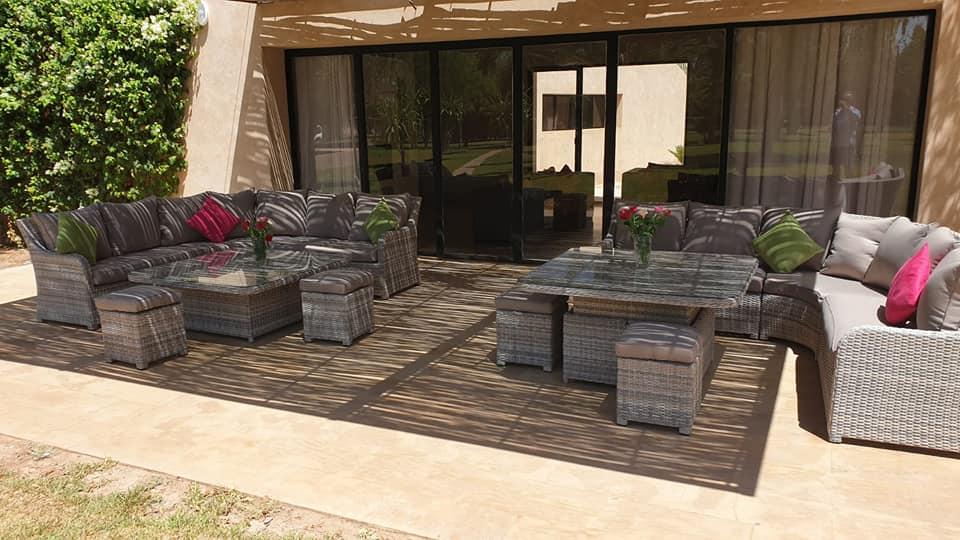 Image  Luxueuse villa 6 suites à vendre à la palmeraie Marrakech  5