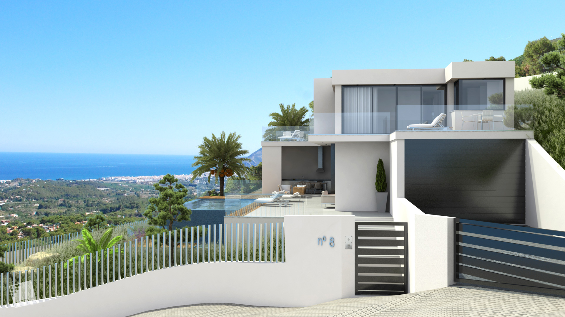 Image Exquisite Luxury Hilltop Villa in Altea 0