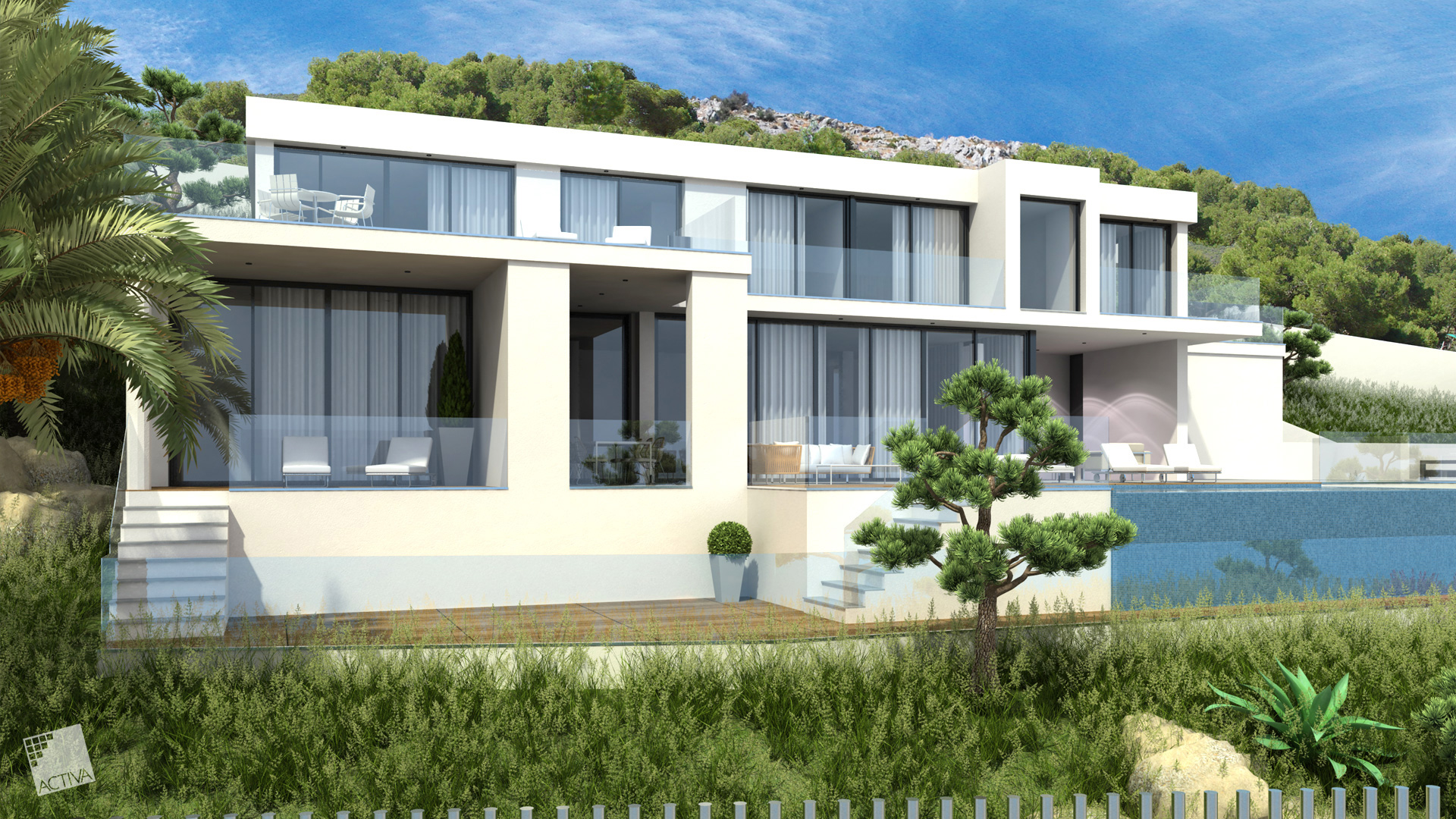 Image Exquisite Luxury Hilltop Villa in Altea 1