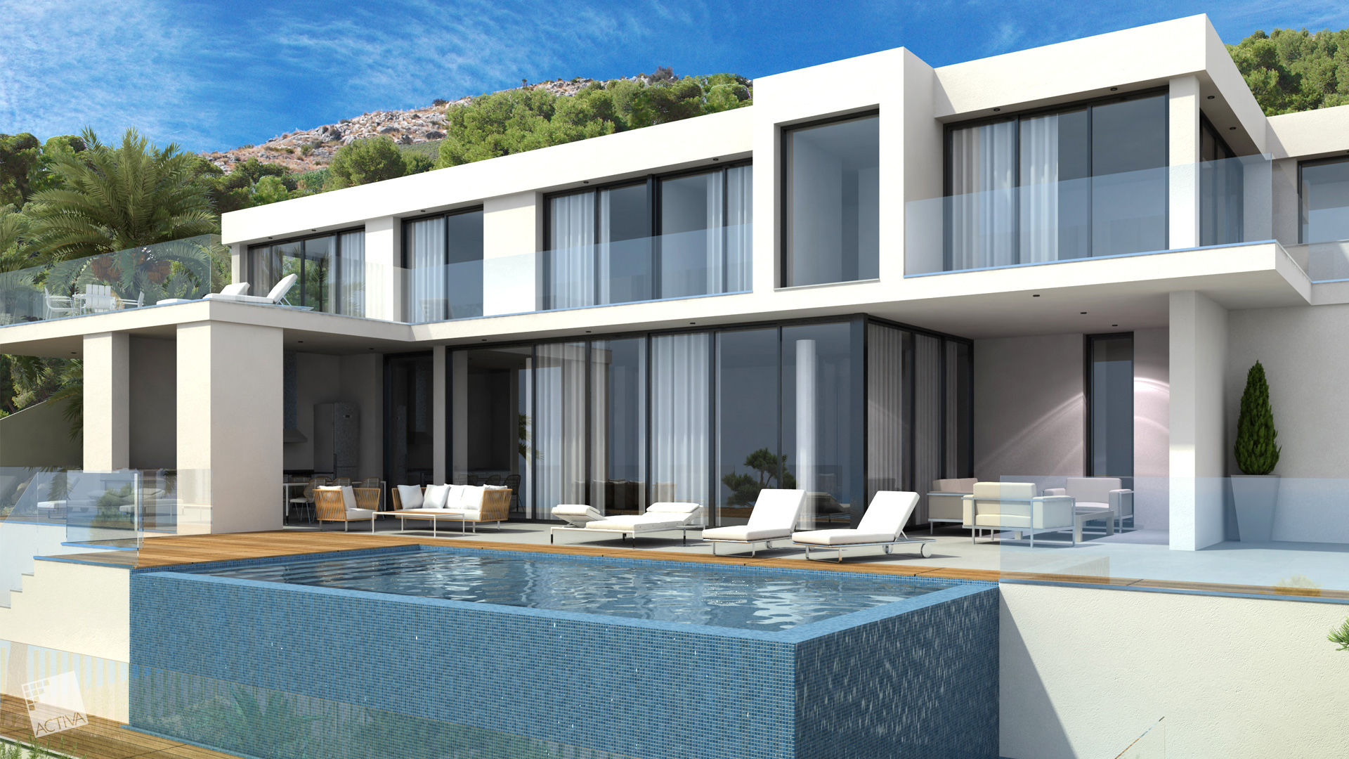 Image Exquisite Luxury Hilltop Villa in Altea 3