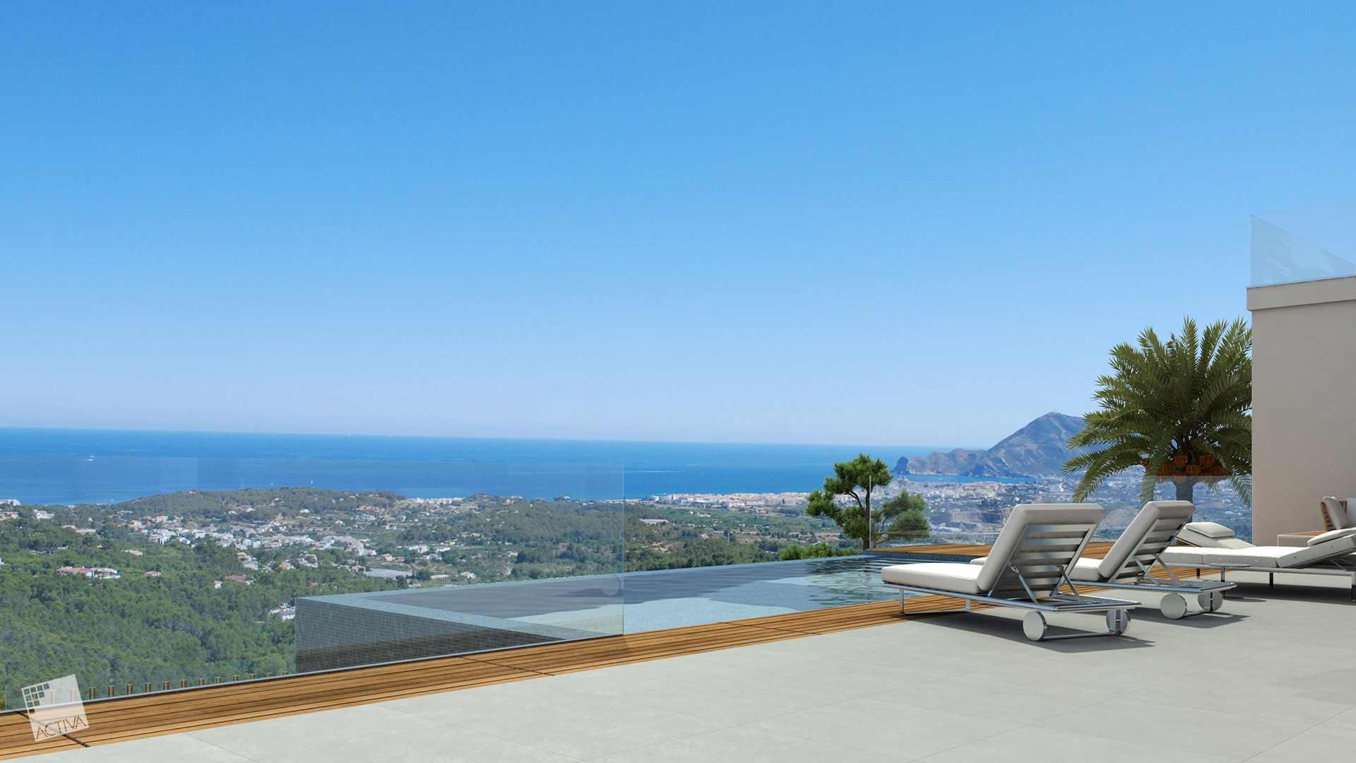 Image Exquisite Luxury Hilltop Villa in Altea 4
