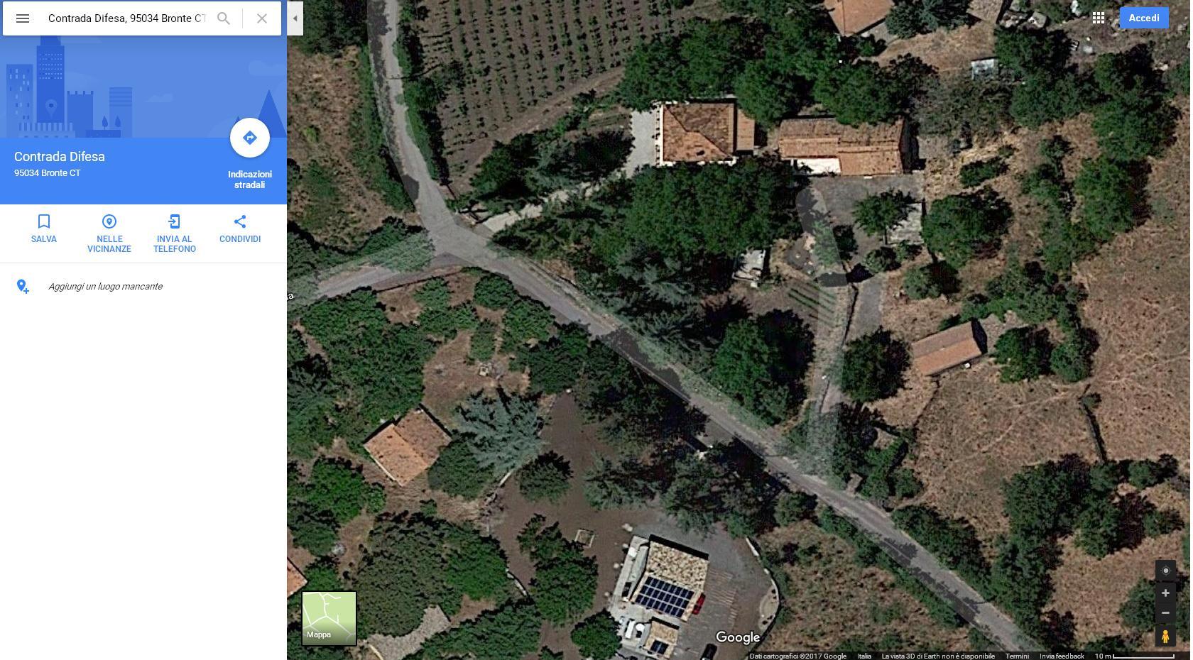 Image Appartamento in Contrada Difesa di Bronte (CT) Zona Parco dell'ETNA e Terreno Coltivabile e Pertinenze 0