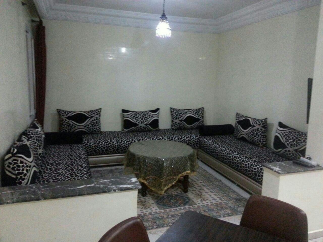 Image belle studio meublé wifi ascenseur parking ain sebaa casablanca maroc 33