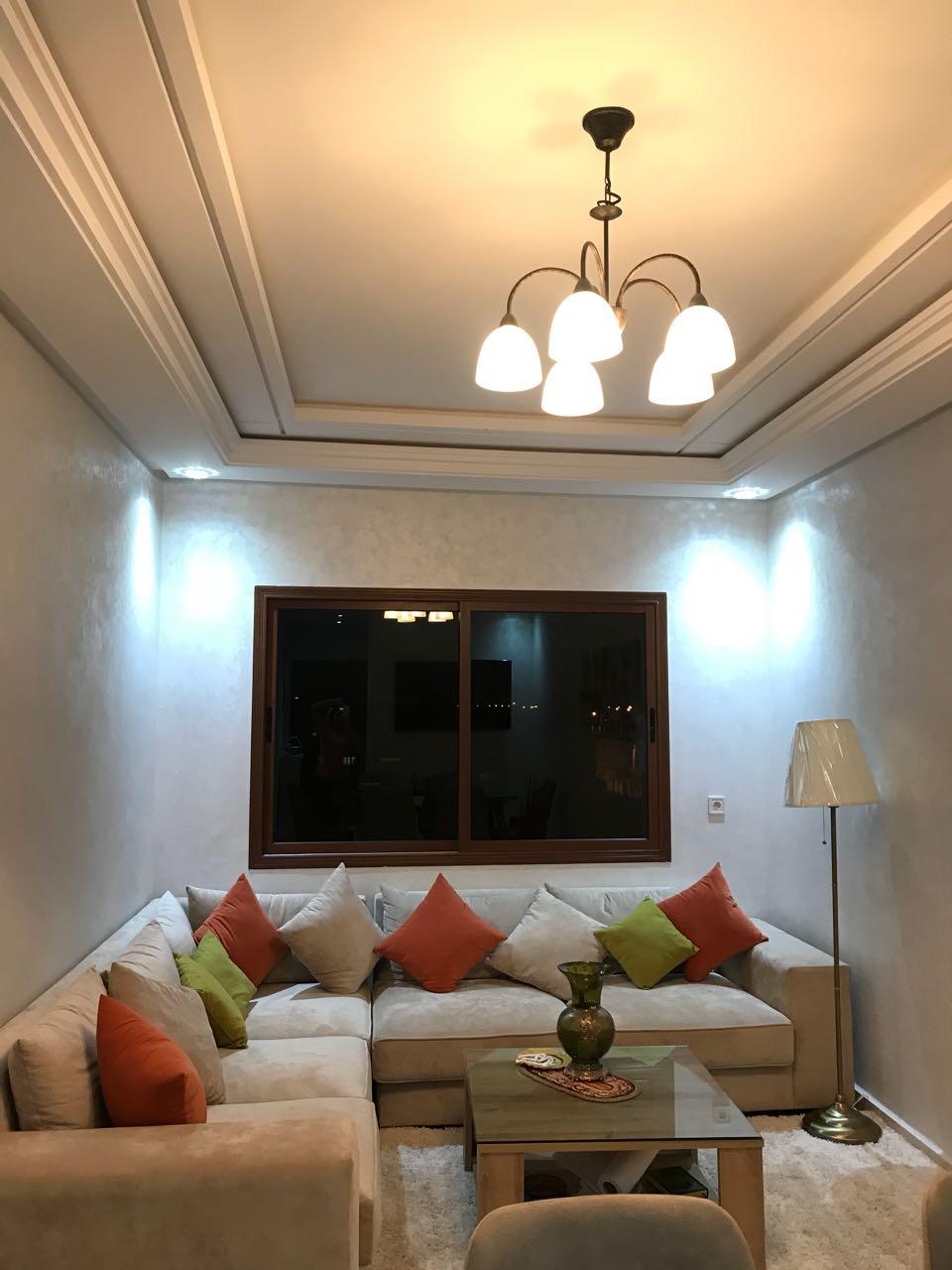 Image belle studio meublé wifi ascenseur parking ain sebaa casablanca maroc 6