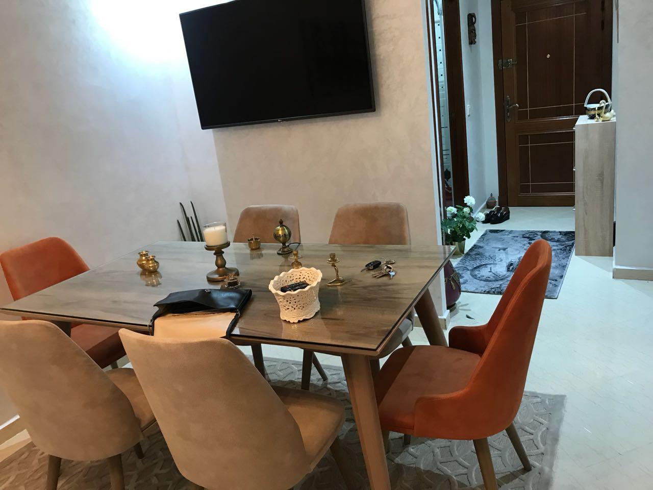 Image belle studio meublé wifi ascenseur parking ain sebaa casablanca maroc 0