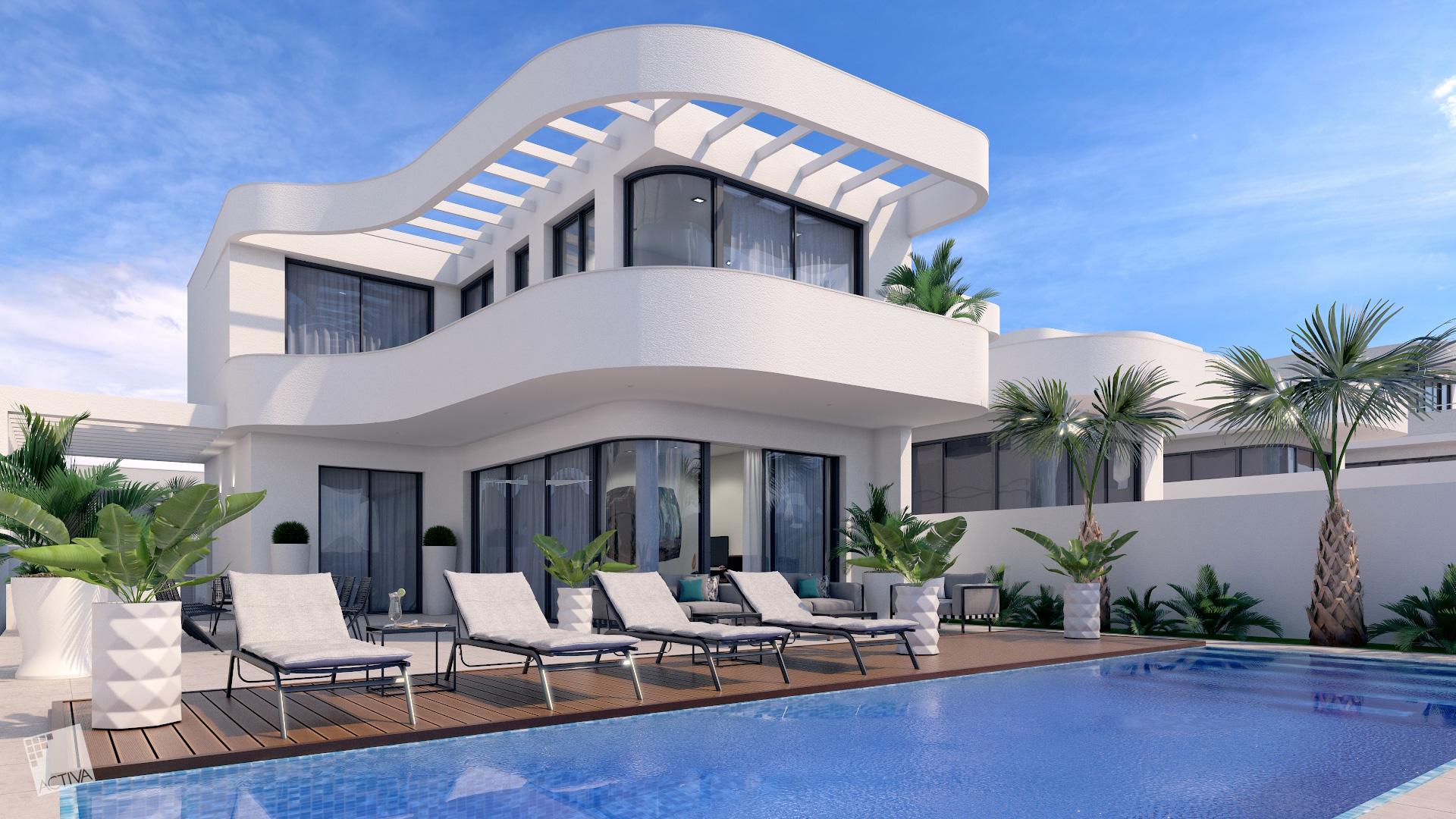 Image Charming Villa plus Studio in La Marina 0
