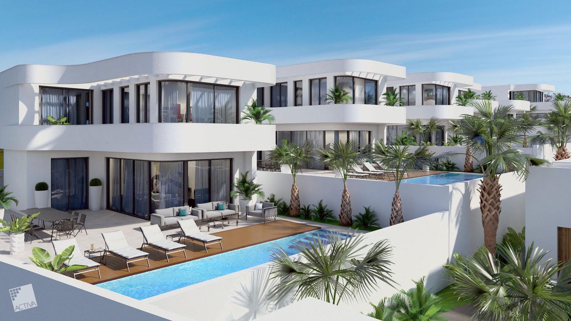 Image Charming Villa plus Studio in La Marina 1