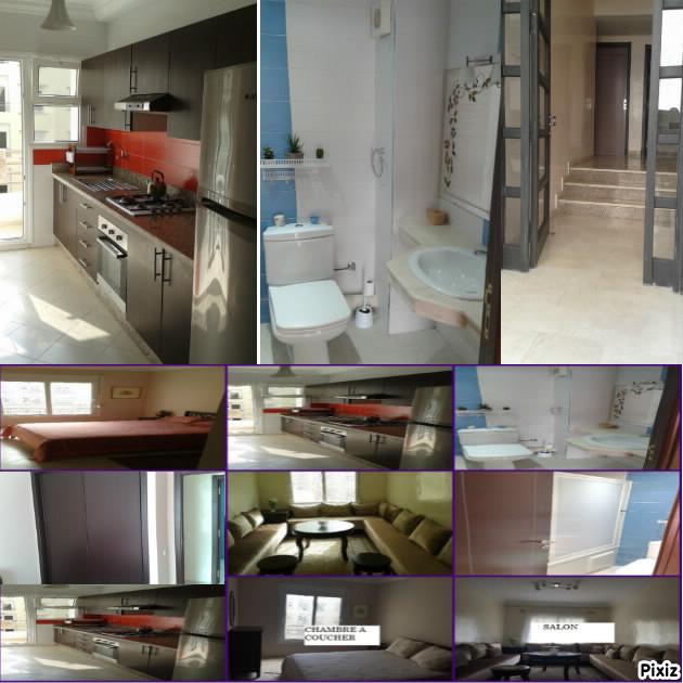 Image belle studio meublé wifi ascenseur parking ain sebaa casablanca maroc 50
