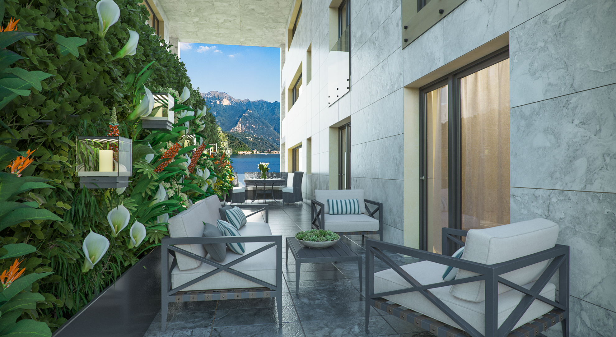 Image Prestigious duplex  apartment with garden on Lake Lugano 4