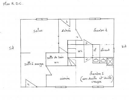 Image Sale house saint germain des fossés  1