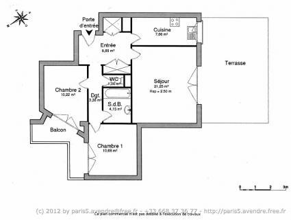 Image Sale apartment paris paris 7