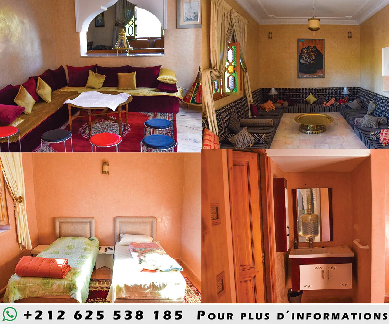 Image Magnifique ferme à marrakech avec villa a louer sur un terrain de 20000 m2 0