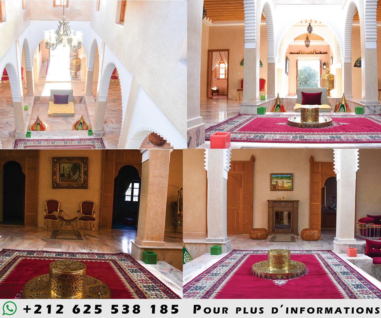 Image Magnifique ferme à marrakech avec villa a louer sur un terrain de 20000 m2 2
