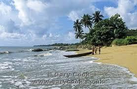 Image 3 Parcelles belles bord de mer entrée Kribi ( Baie Elabé - quartier Hotels Jully et la Marée  ) entrée privée directe de route Edéa -Kribi, Cameroun. Situation exceptionnelle. 1