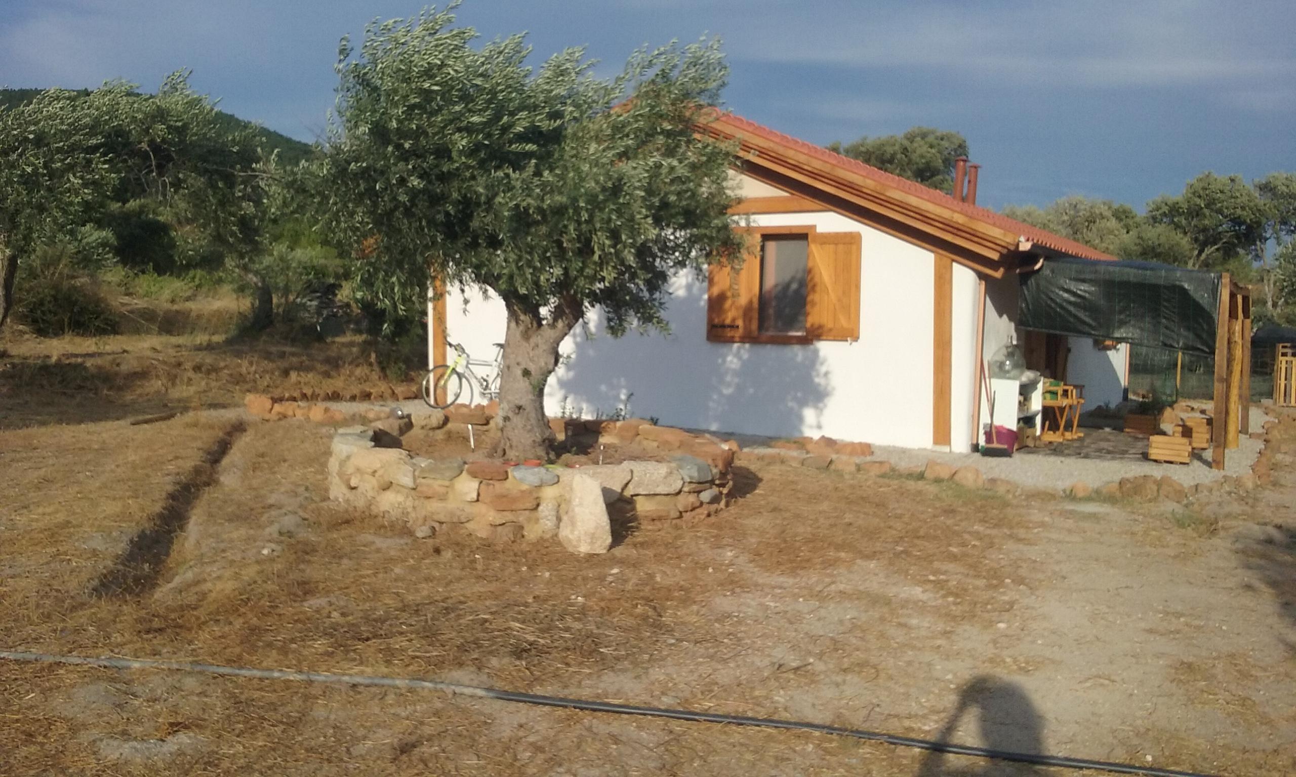 Vend maison ecologique en bois et en paille for Maison bois et paille