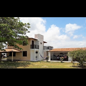 Image House nearby sea in Brazil, Paracuru (Ceara) 0