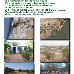Terrain à vendre à Sanar (Saint-Louis, Sénégal)></noscript>                                                         <span class=