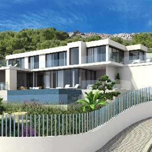Exquisite Luxury Hilltop Villa in Altea></noscript>