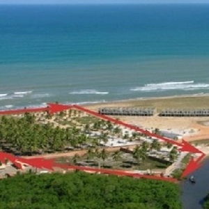 Very nice seafront land in Bahia ></noscript>