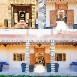 Magnifique ferme à marrakech avec villa a louer sur un terrain de 20000 m2></noscript>                                                         <span class=